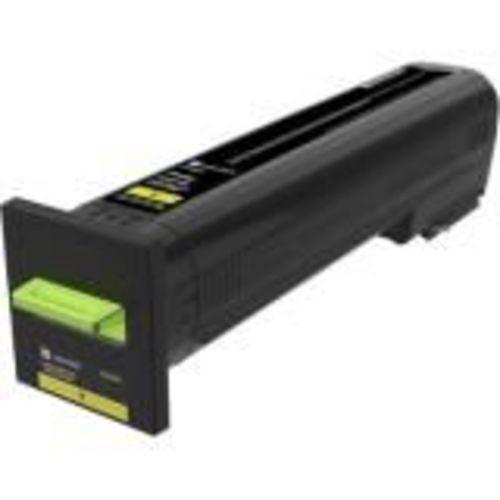 High Yield - yellow - original - toner cartridge LCCP - for Lexmark CX820de CX820dtfe