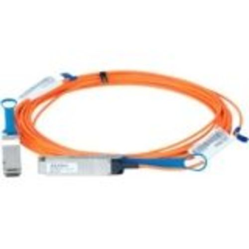 LinkX 100Gb/s Active Optical Cables - InfiniBand cable - QSFP to QSFP - 100 m - fiber optic - SFF-8665/IEEE 802.3bm - active halogen-free
