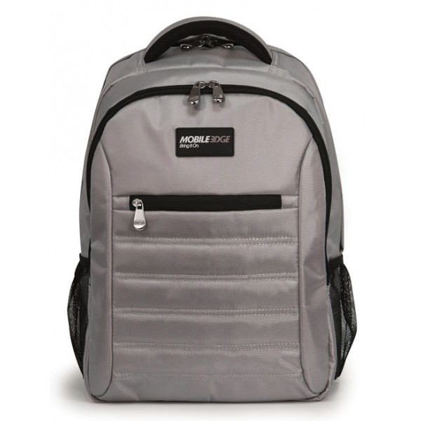 SmartPack 15.6 inch Notebook & Tablet Backpack - Notebook carrying backpack - 15.6 inch - silver