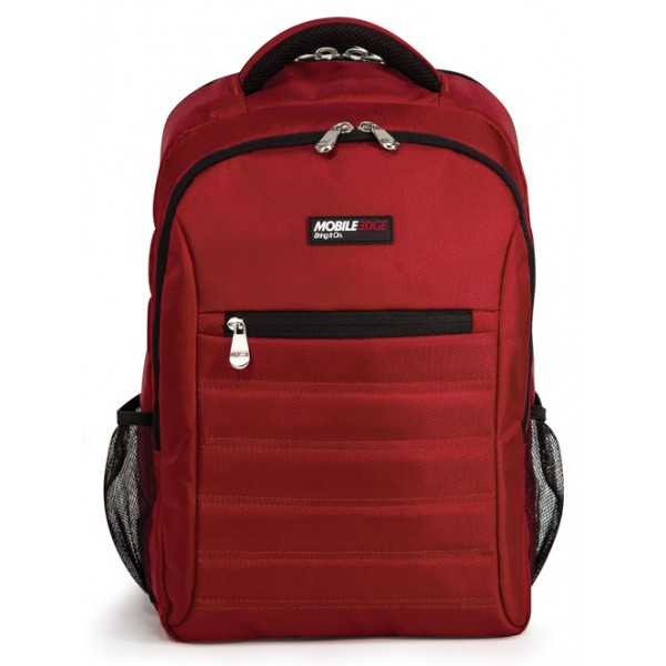 SmartPack 15.6 inch Notebook & Tablet Backpack - Notebook carrying backpack - 15.6 inch - crimson