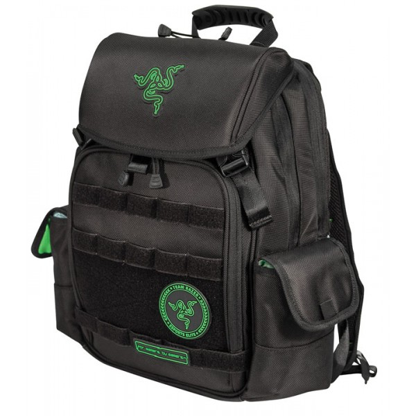 Razer Tactical 15.6 inch Notebook & Tablet Backpack - Notebook carrying backpack - 15.6 inch - black green