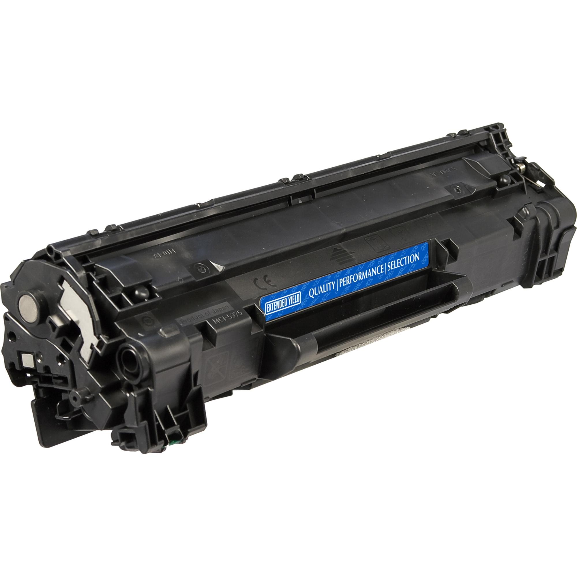 Black Toner Cartridge for HP LaserJet Pro M1130 M1132MFP M1134MFP M1136MFP M1137 M1138 M1139 M1210 M1212NF M1212F M1213NF M1214NFH M1216NFH M1217NFW M1219NF P1100 P1102 P1102W CE285A 1.6K YLD - Laser - 1600 Page