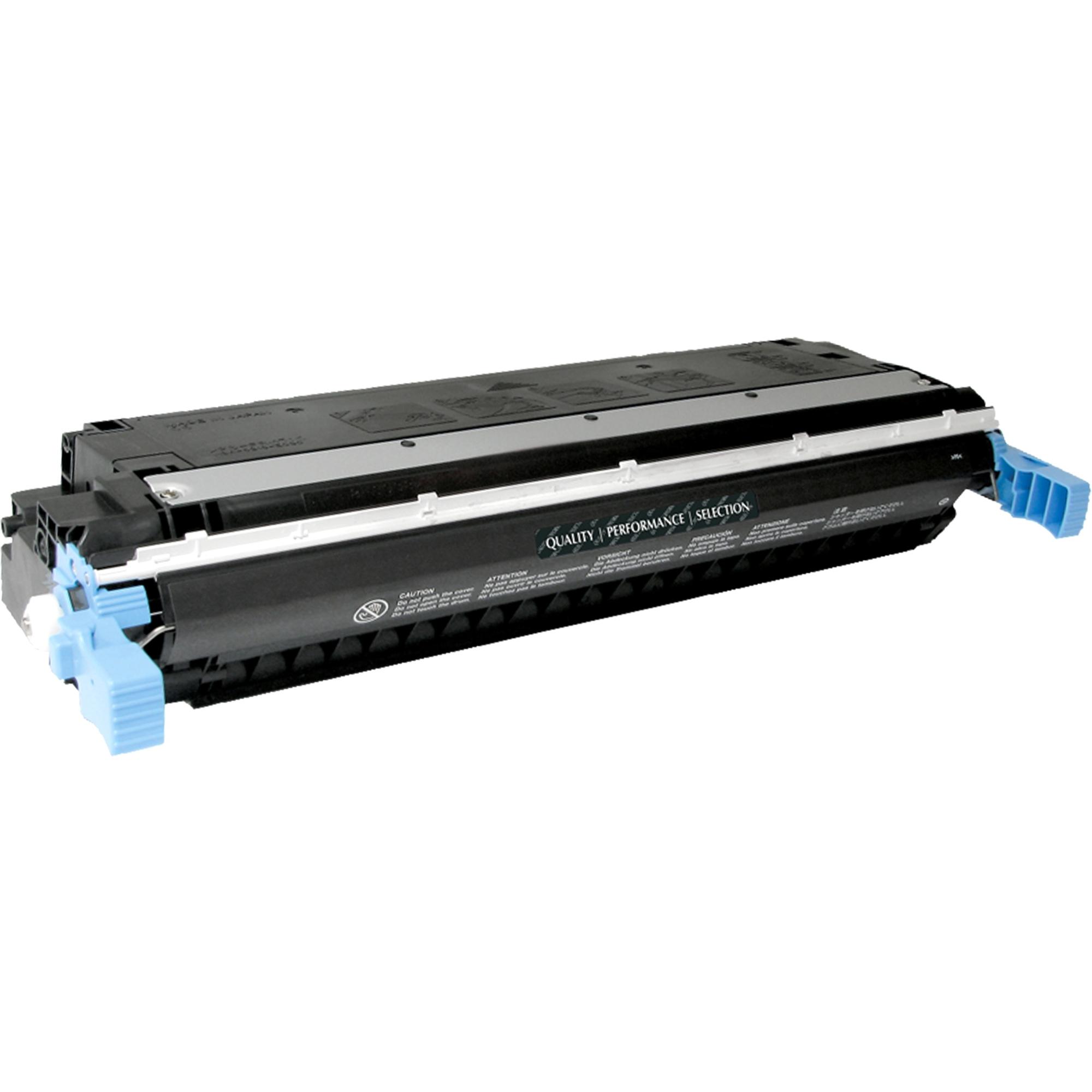 Black Toner Cartridge for HP Color LaserJet 5500 5500DN 5500DTN 5500HDN 5500N 5550N 5550DTN C9730A 13K YLD - Laser - 13000 Page