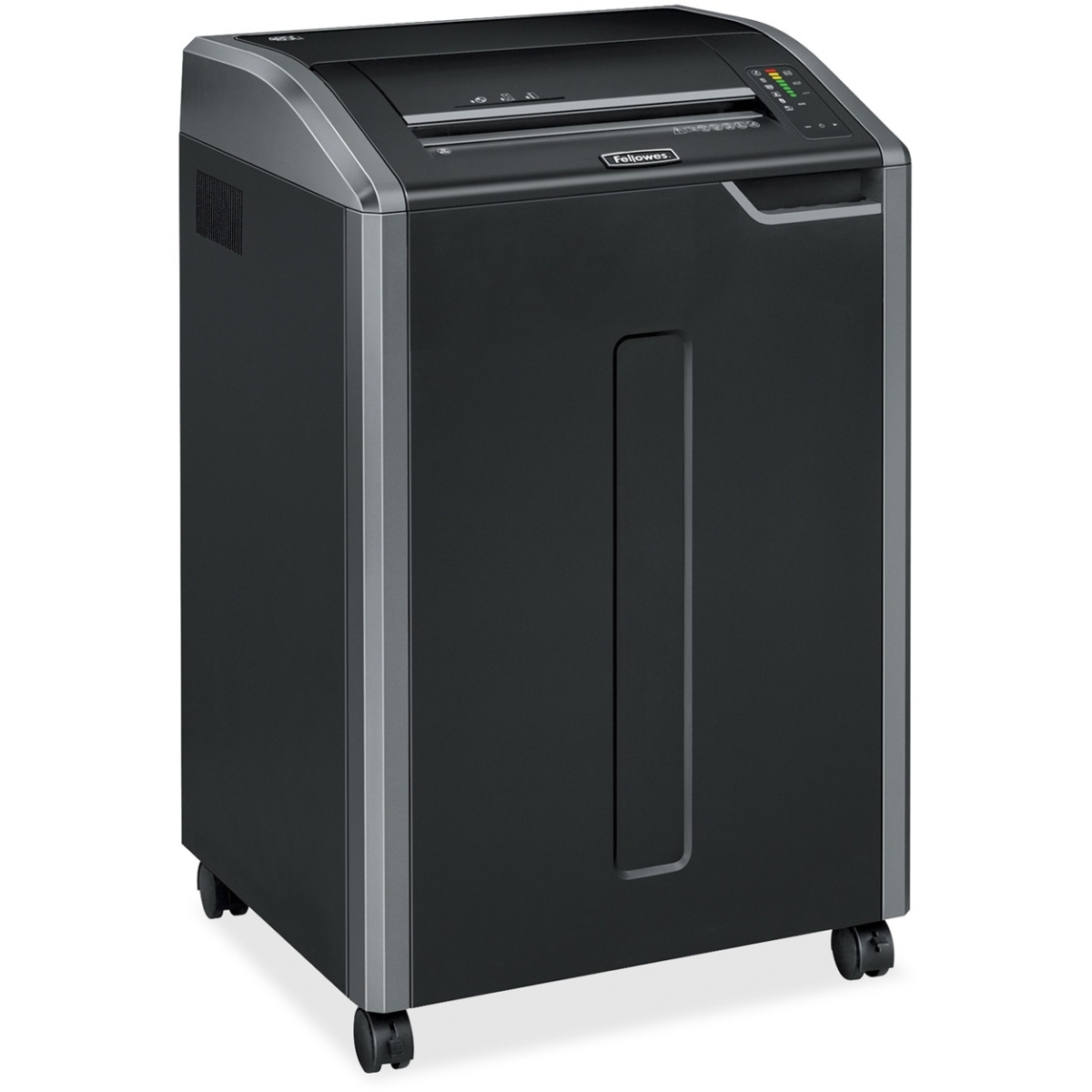Powershred 485Ci 100% Jam Proof Cross-Cut Shredder - Continuously shreds 30 sheets of paper per pass into 5/32 x 1-? ? (Security Level P-4) particles - 35-gallon bin (HW No Free Freight)