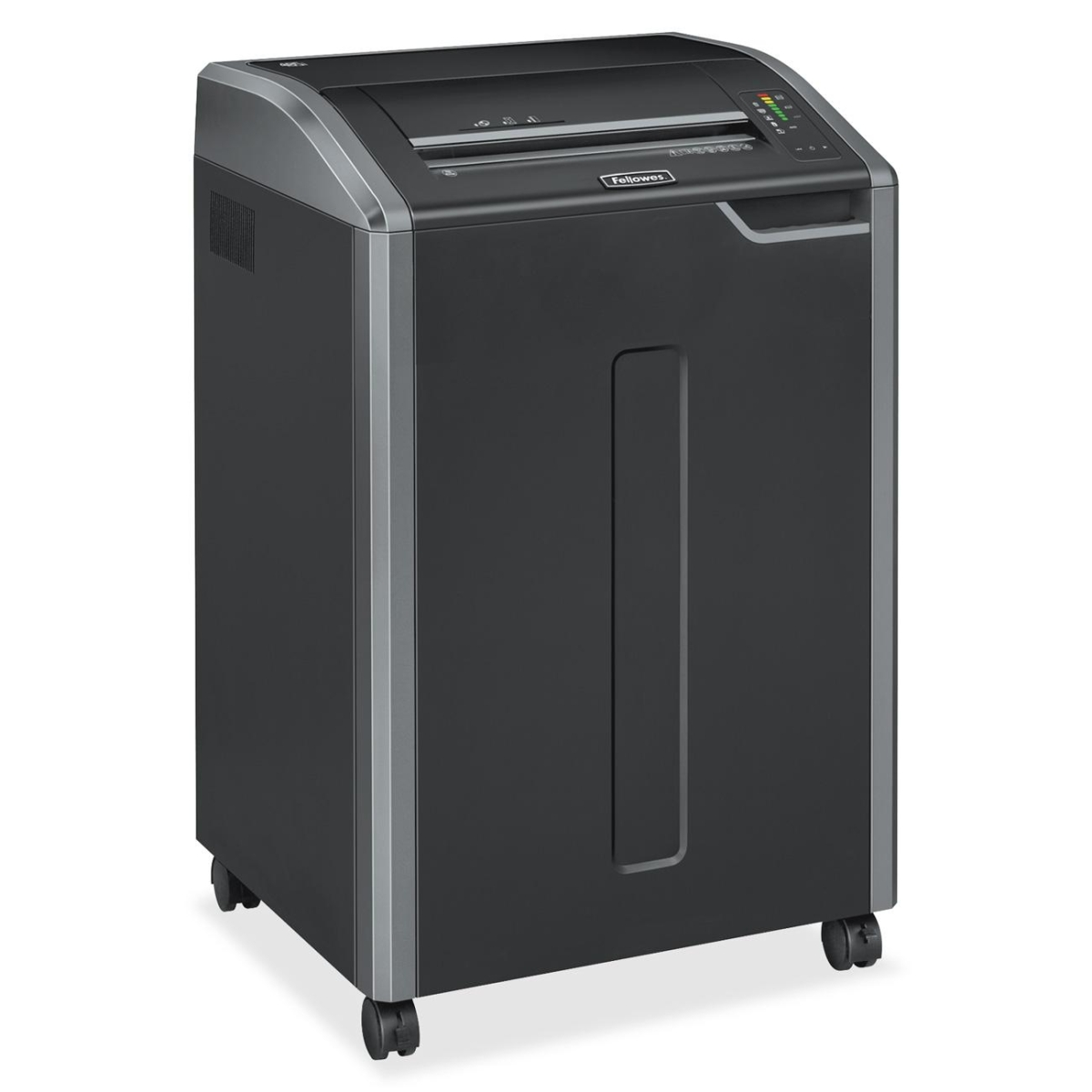 Powershred 485I Strip-Cut Shredder - Continuously shreds 38 sheets of paper per pass into 37 (7/32 Security Level P-2) strip-cut particles for basic security