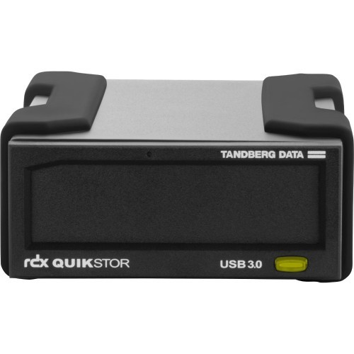 Tandberg RDX QuikStor - Disk drive - RDX - SuperSpeed USB 3.0 - external - with 2 TB Cartridge