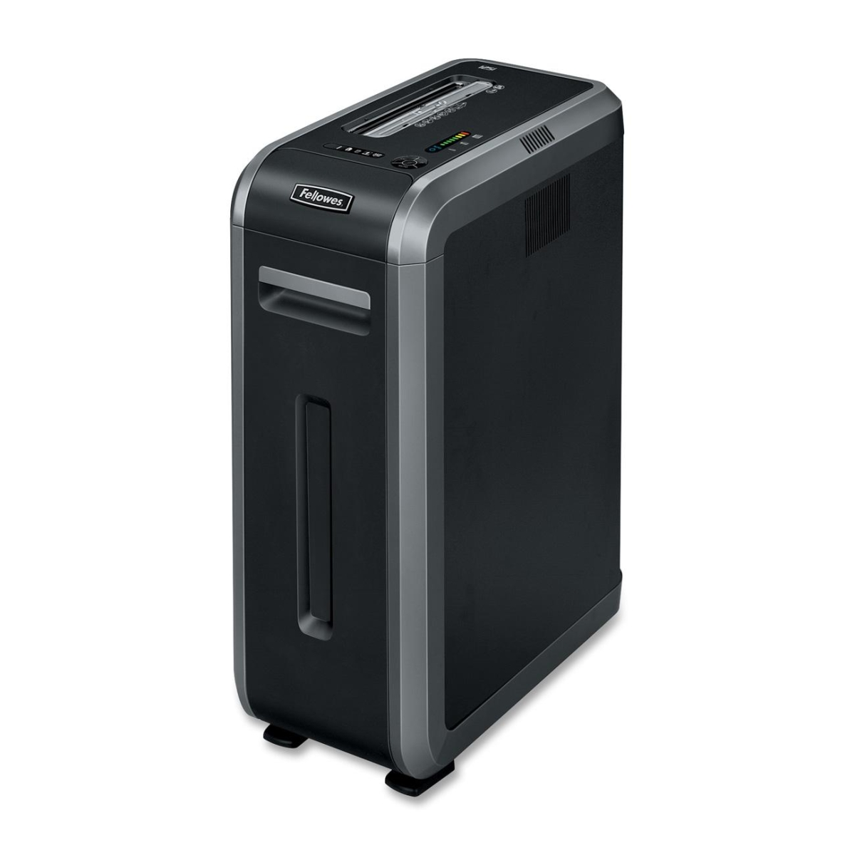 Powershred 125I Strip-Cut Shredder - Shreds 18 sheets per pass into 7/32 strip-cut particles (Security Level P-2)