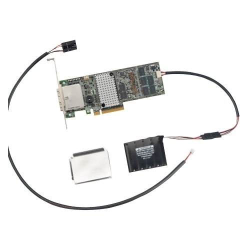 Logic MegaRAID 9286-CV-8e 8-port SAS Controller - Serial ATA/600 - PCI Express 3.0 x8 - Plug-in Card - RAID Supported - 0 1 10 50 60 5 6 RAID Level - 2 Total SAS Port(s) - 2 SAS Port(s) Internal - 2 SAS Port(s) External Flash Backed Cache