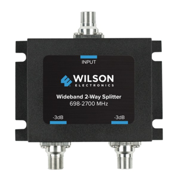 Wideband 2-Way Splitter with F-Female Connector