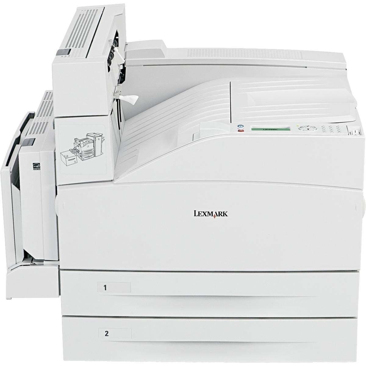 W850DN Laser Printer - Monochrome - 1200 x 1200 dpi Print - Plain Paper Print - Desktop - 50 ppm Mono Print - 1100 sheets Input - Automatic Duplex Print - Gigabit Ethernet - USB