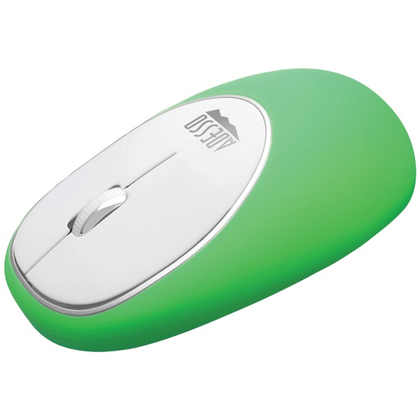Mouse - optical - 3 buttons - wireless - 2.4 GHz - USB wireless receiver - green