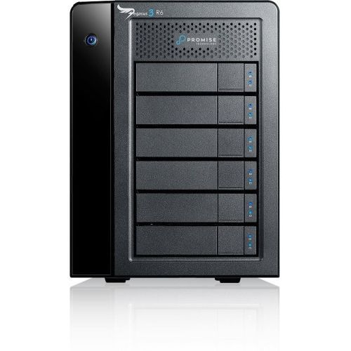 Pegasus3 R6 - Hard drive array - 24 TB - 6 bays (SATA-600) - HDD 4 TB x 6 - Thunderbolt 3 (external)