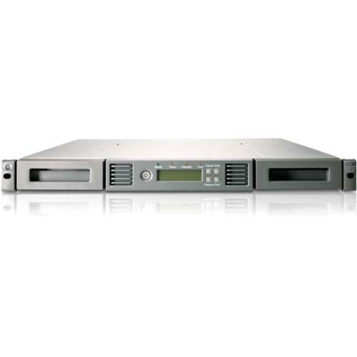 1/8 G2 LTO-6 Ultrium 6250 SAS Tape Autoloader - 1 x Drive/8 x Slot - LTO-6 - 15 TB (Native) / 37.50 TB (Compressed) - 81.92 MB/s (Native) / 204.80 MB/s (Compressed) - SAS - Network (RJ-45) - USB - 1URack-mountable
