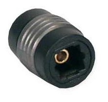 Toslink Female to Female Coupler - 1 x Toslink Female Audio - 1 x Toslink Female Audio