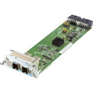 2-port stacking module assembly - Accessory for the E2920 series of switches - For use in stacking up to four switches together to form a single extended virtual switch