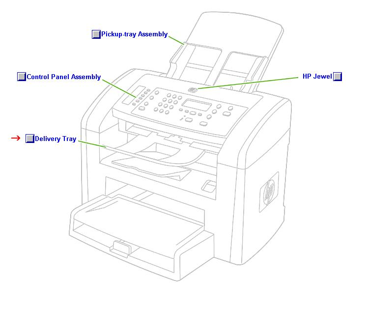 Document scanner paper delivery guide