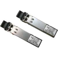 MSA Compatible - SFP (mini-GBIC) transceiver module - 100Mb LAN - 100Base-FX - RJ-45 - up to 328 ft