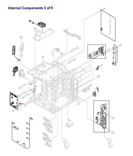 DC controller PC board