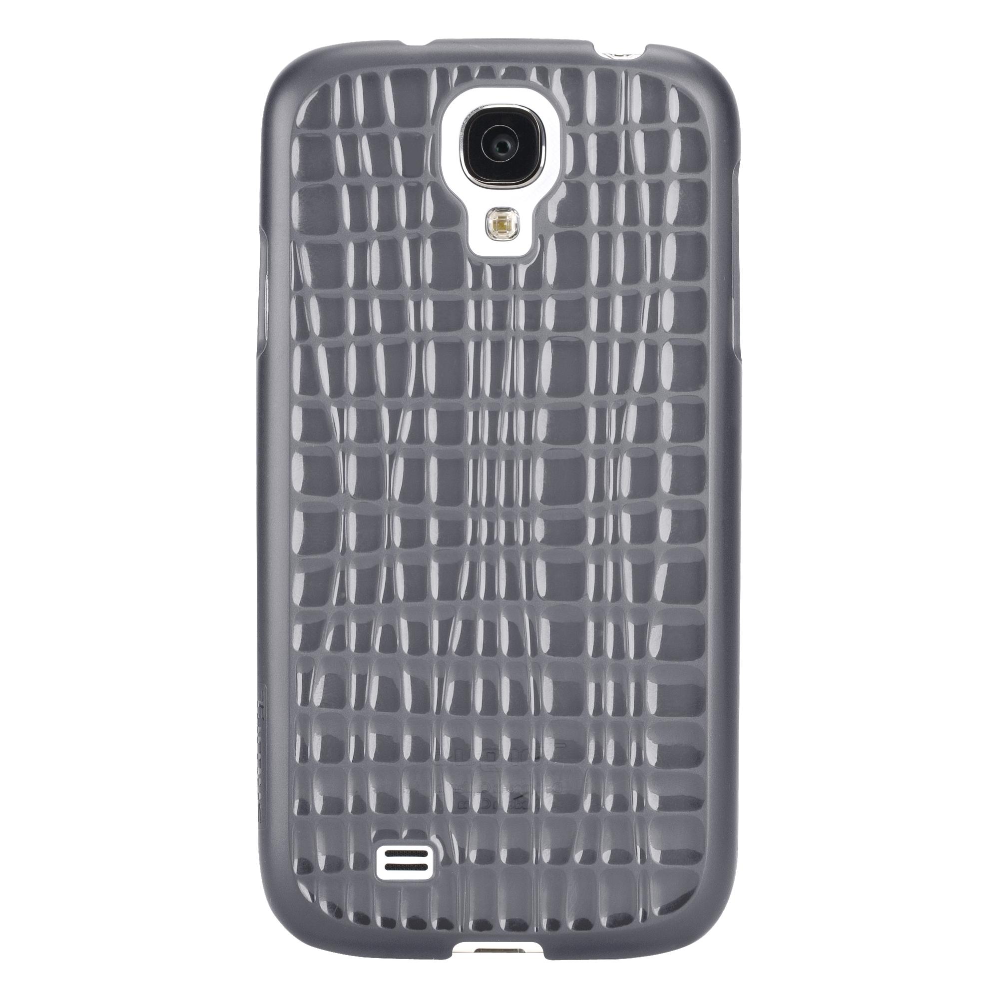 Slim Wave Case for Samsung Galaxy S4 (Noir) - Smartphone - BlackNoir - Textured - Matte Glossy - Polycarbonate
