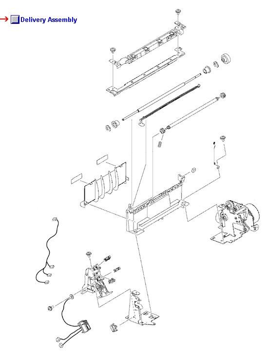 Color LaserJet CM4730 Delivery Assembly