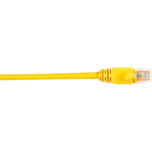 Box CAT5e Value Line Patch Cable Stranded Yellow 6-ft. (1.8-m)  10-Pack - Category 5e for Network Device - 6 ft - 10 Pack - 1 x RJ-45 Male Network - 1 x RJ-45 Male Network - Yellow