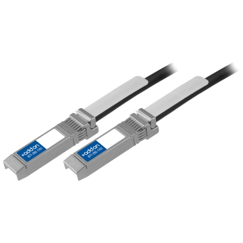 SFP-10G-PDAC1M-AO Tyco 2127931-2 Compatible 10GBase-CU SFP+ to SFP+ Direct Attach Cable (Passive Twinax 1m) - 100% application tested and guaranteed compatible