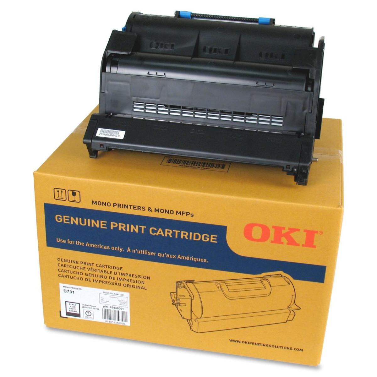 OKI - Extra High Capacity - black - original - toner cartridge - for B731dn 731dnw