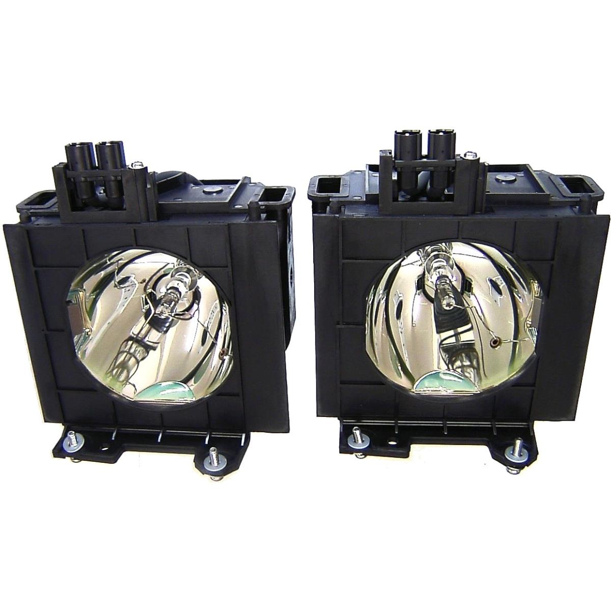 Repl lamp Panasonic 4000HRS 300W ET-LAD55LW 2PK PT-D5500/D5600/DW5000 SERIES - 300 W Projector Lamp