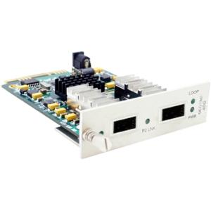40Gbs 1 QSFP+ to 2 QSFP+ Media Converter - Media converter - 10 Gigabit Ethernet 40 Gigabit Ethernet - 40GBASE-SR4 40GBase-LR4 - QSFP+ / QSFP+