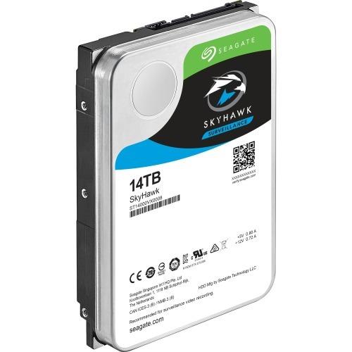 SkyHawk Surveillance HDD - Hard drive - 14 TB - internal - 3.5 inch - SATA 6Gb/s - buffer: 256 MB
