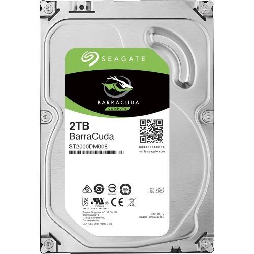 Barracuda - Hard drive - 2 TB - internal - 3.5 inch - SATA 6Gb/s - 7200 rpm - buffer: 256 MB