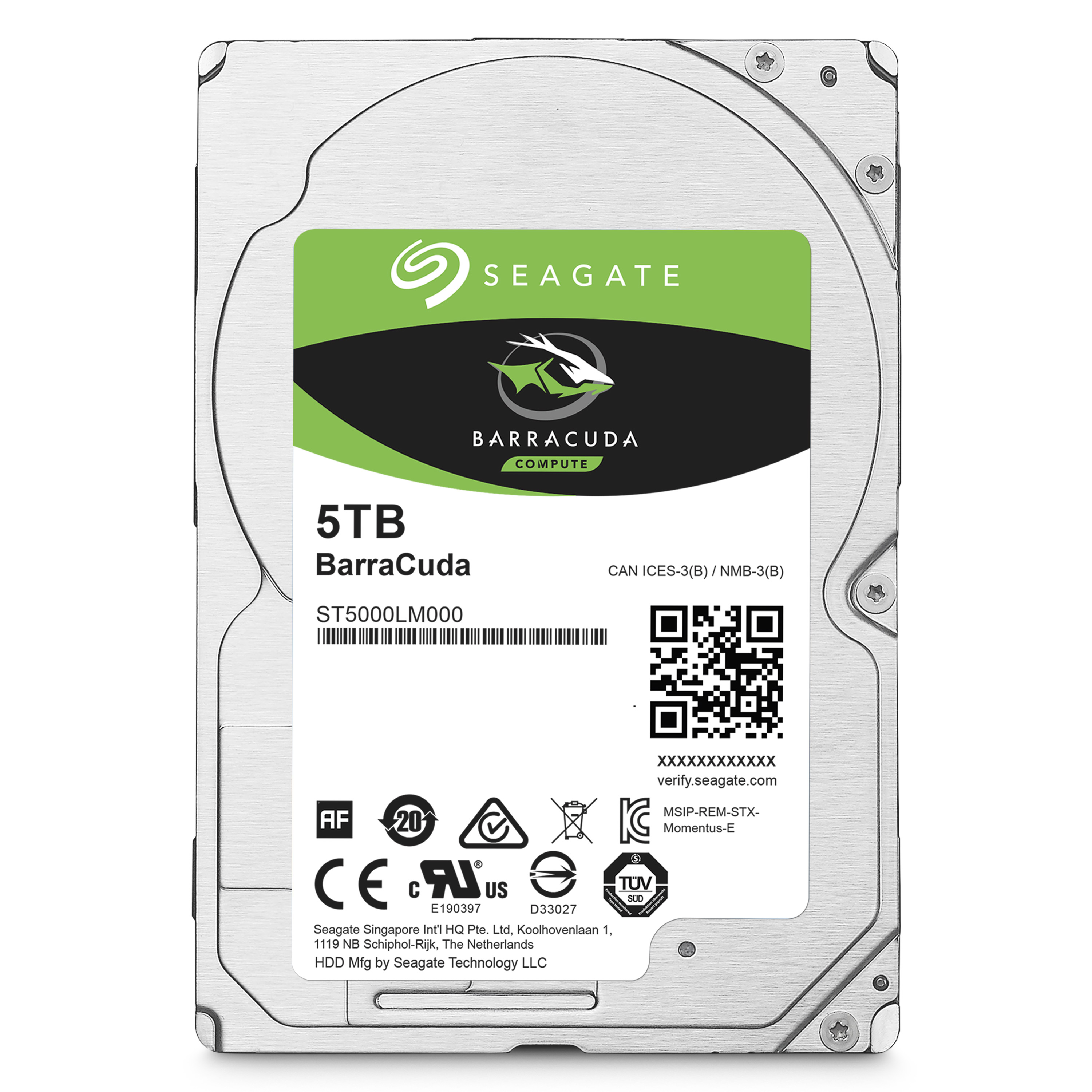 40PK 5TB MOBILE HDDSATA 5400 RPM 128MB 2.5IN