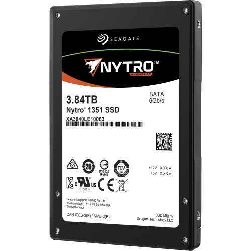 Nytro 1351 - Solid state drive - 3.84 TB - internal - 2.5 inch - SATA 6Gb/s