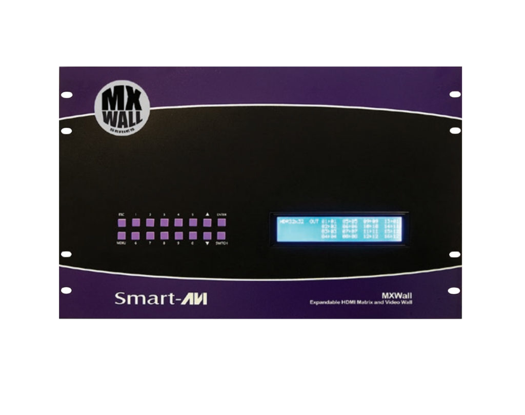 04X28 HDMI MATRIX WITH INTEGRATED VIDEO