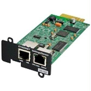 Network Card-MS - Remote management adapter - 10Mb LAN 100Mb LAN RS-232 - for Eaton PW9135G6000-XL3U; 5PX 1000 1500 2200 3000 3000 3U Rack/Tower LCD
