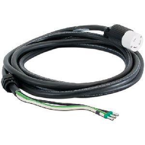 InfraStruXure Whips - Power cable - bare wire to NEMA L6-30 (F) - 13 ft - black - Canada United States - for P/N: SUA5000RMI5U SURT5000XLT