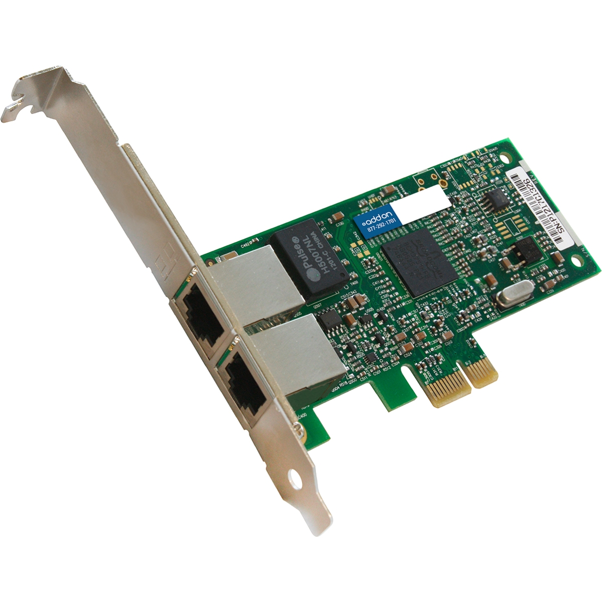 HP 615732-B21 Comparable 10/100/1000Mbs Dual Open RJ-45 Port 100m PCIe x4 Network Interface Card - Cost effectively add additional ports and connectivity