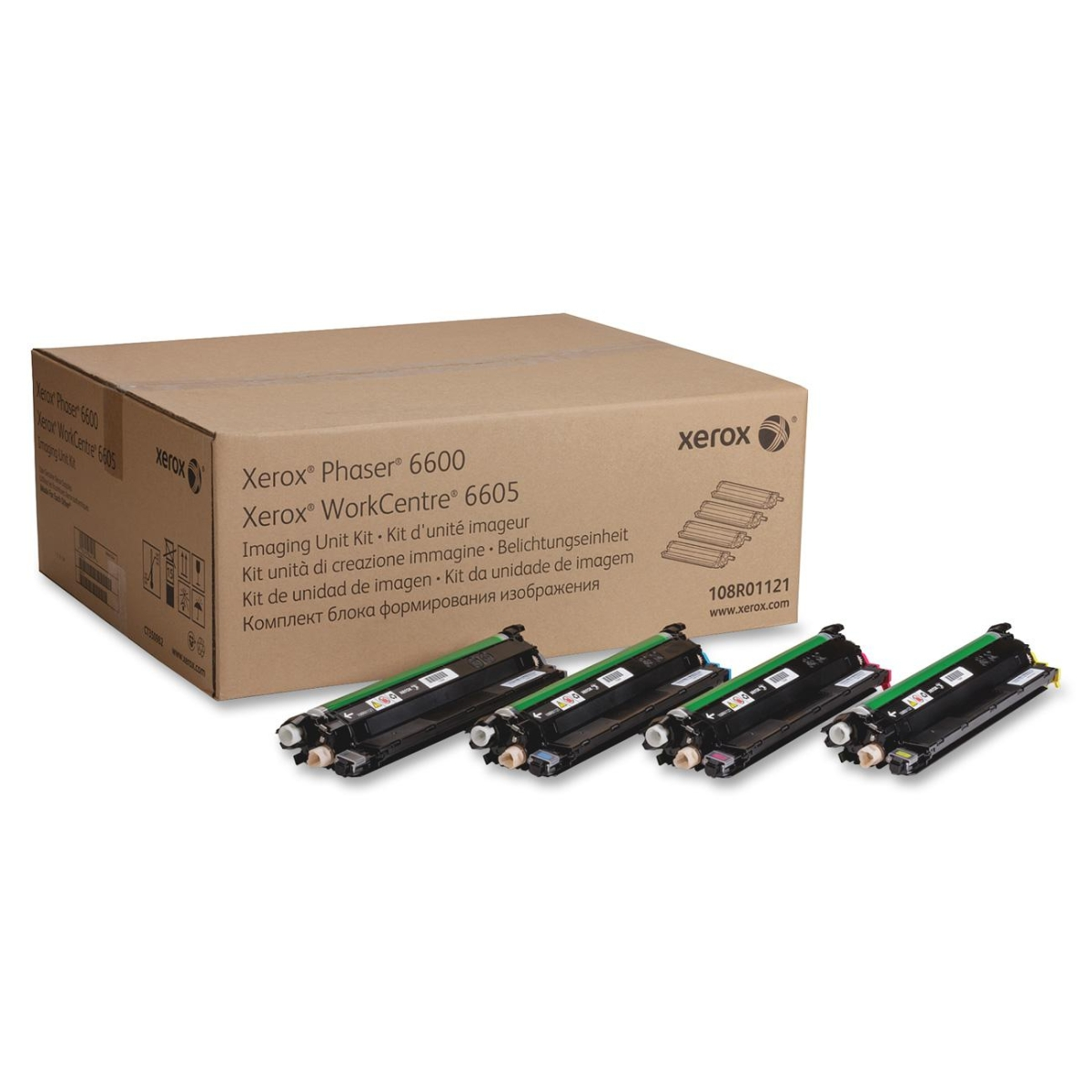 Phaser 6600 VersaLink C400 C405 WorkCentre 6605 MFP Imaging Unit Kit (Includes 4 Imaging Units 1 for Each Color) (60000 Yield)