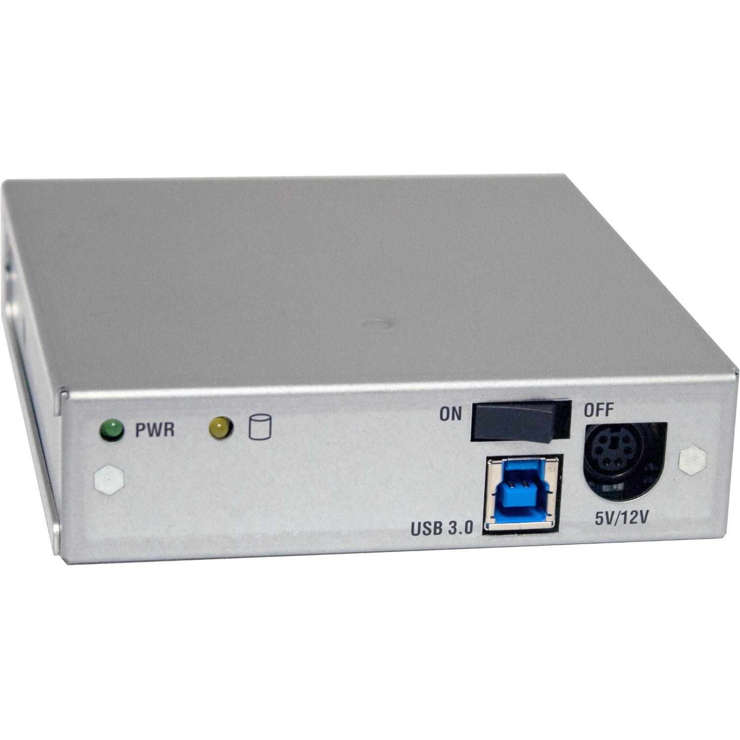MoveDock Drive Bay Adapter Internal/External - Silver - 4 TB Installed HDD Capacity - 1 x Total Bay - 1 x 2.5 inch /3.5 inch Bay - Serial ATA/600 - USB 3.0 - Steel