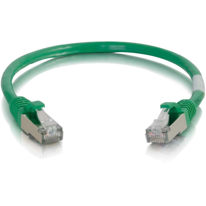 6in Cat6 Snagless Shielded (STP) Ethernet Network Patch Cable - Green - Patch cable - RJ-45 (M) to RJ-45 (M) - 6 in - screened shielded twisted pair (SSTP) - CAT 6 - molded snagless stranded - green