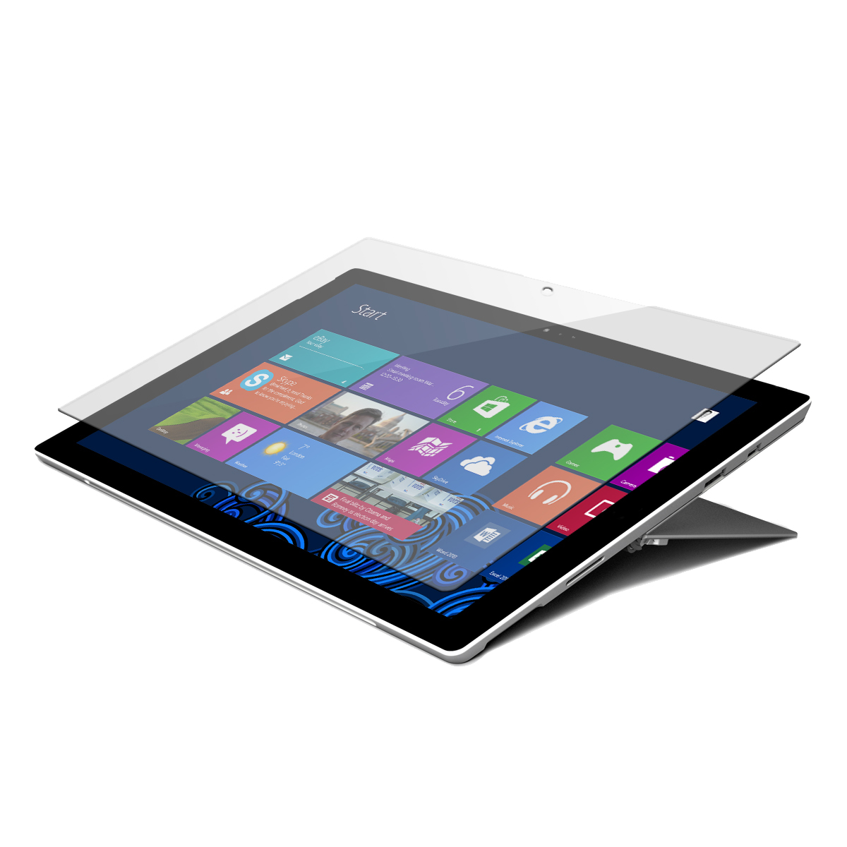 Tempered Glass Screen Protector - Notebook screen protector - clear - for Microsoft Surface Pro (Mid 2017)  Pro 4 Pro 6