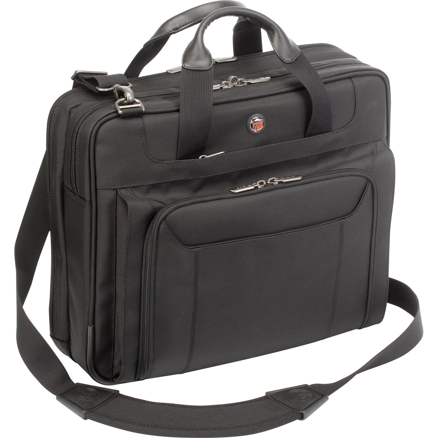 Zip-Thru Corporate Traveler Laptop Case - Notebook carrying case - 14 inch - black