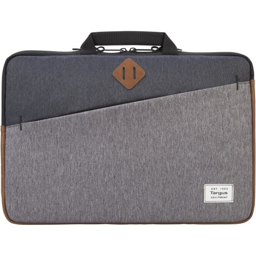 Strata II Sleeve - Notebook sleeve - 15.6 inch - gray charcoal