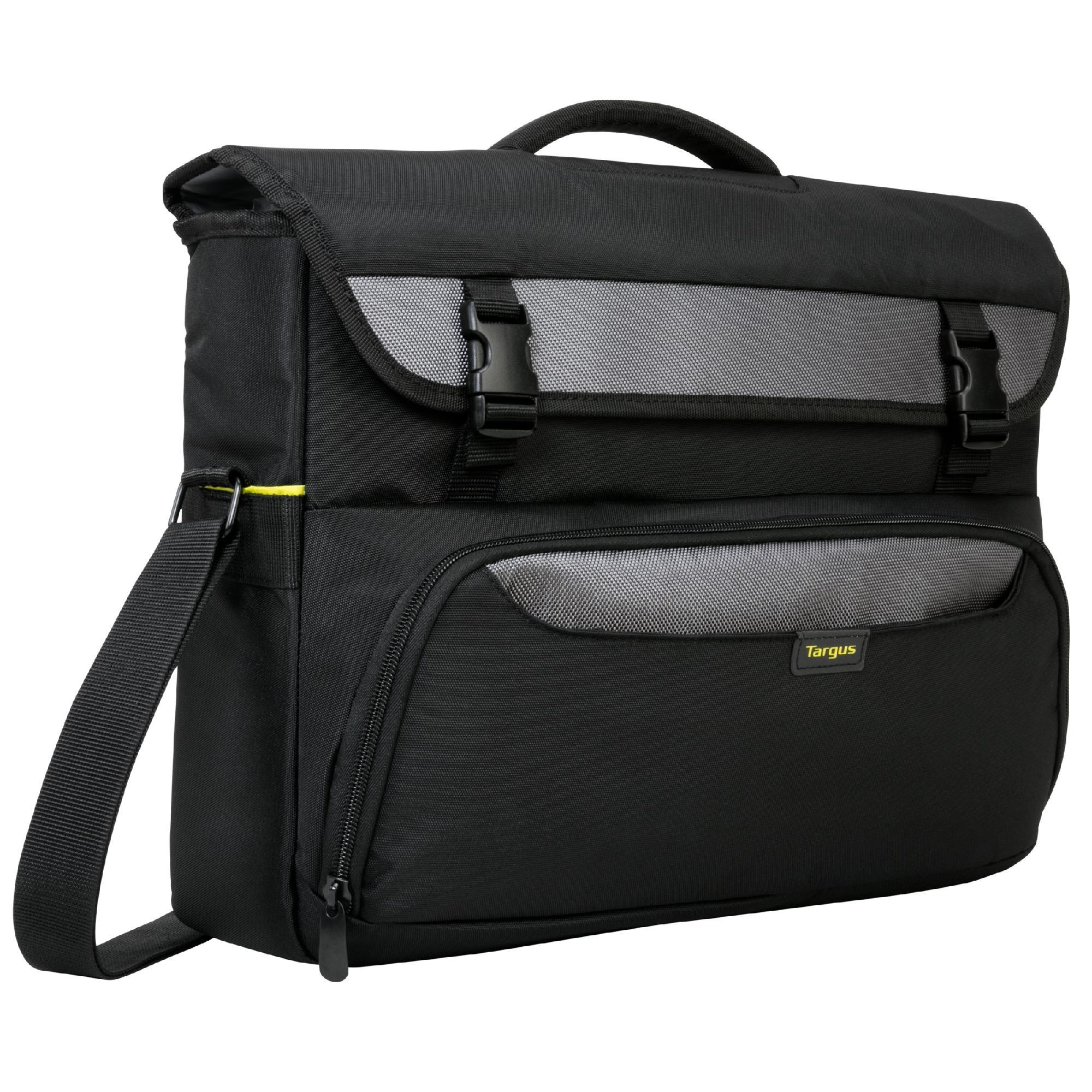 CityGear II Hybrid Messenger - Notebook carrying case - 17 inch - gray black