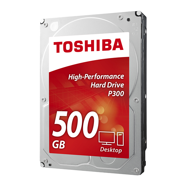500GB DESKTOP PC INTERNAL HARD DRIVE 7200RPM 64MB (P300) 3.5INSATA 6 GB/S2 YE