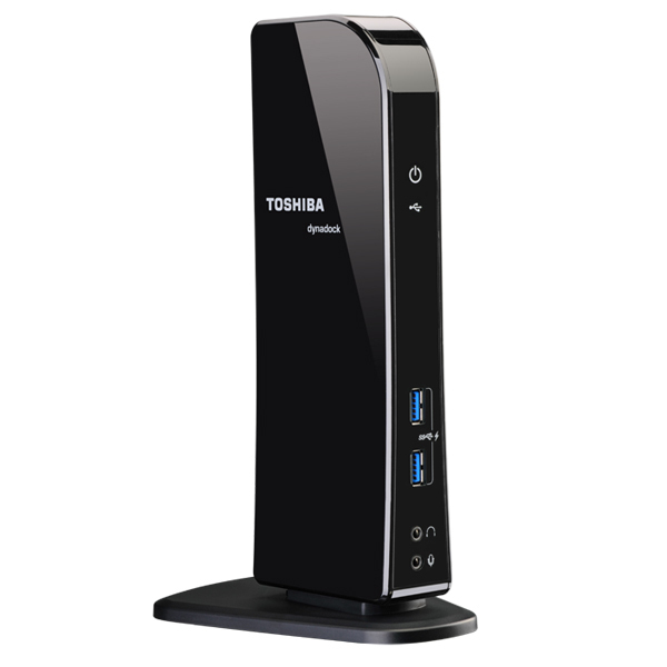 Dynadock U3.0 Universal USB 3.0 Docking Station - Docking station - USB - GigE - for Toshiba Satellite Pro R50 Toshiba Tecra A50 C40 C50 Z50 Satellite C55 S55 Tecra Z40