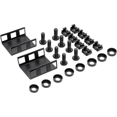 Rackmount Rack Extension Bracket for Console KVM Switch 1U 1.5in - Rack bracket kit - rack mountable - black - 1U - 19 inch