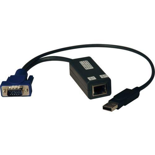 USB Server Interface Unit 8 Pack KVM Switch HD15 USB RJ45 - Keyboard / video / mouse / USB adapter - HD-15 (M) to USB RJ-45 ( pack of 8 )