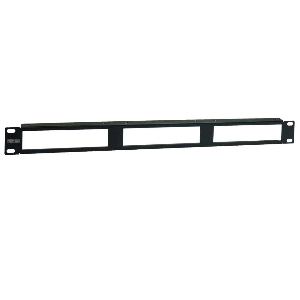 Rackmount Bracket for VGA over Cat5 Video Extender Splitter 12-Port - Network device mounting bracket - black - 1U - 19 inch