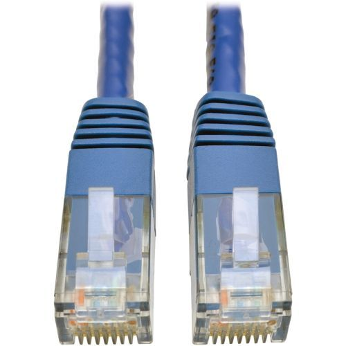 Cat6 Gigabit Molded Patch Cable RJ45 M/M 550MHz 24 AWG Blue 5 - Patch cable - RJ-45 (M) to RJ-45 (M) - 5 ft - UTP - CAT 6 - IEEE 802.3ab - molded stranded - blue